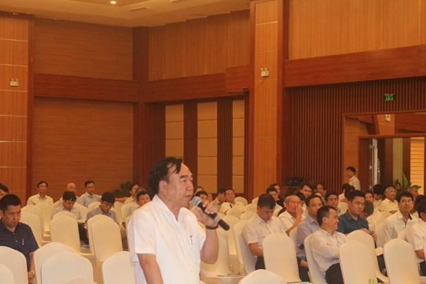 河南省领导与企业进行对话 hinh anh 1