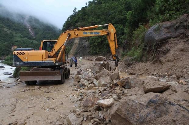 暴雨洪灾给北部山区各省造成经济损失达1410亿越盾 hinh anh 2