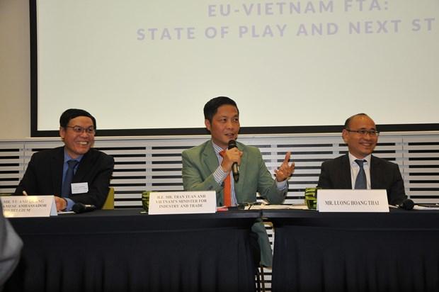 越南与欧盟结束越欧自贸协定法律审查程序 hinh anh 2