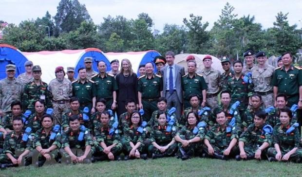 越南被联合国选为维和部队的训练场所 hinh anh 1