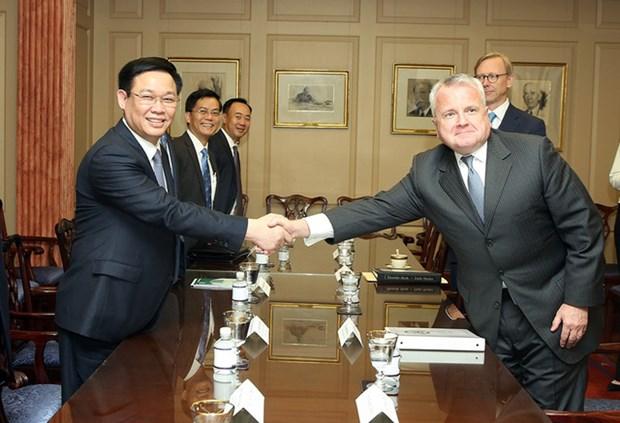 美国媒体呼吁该国政府承认越南市场经济地位 hinh anh 1