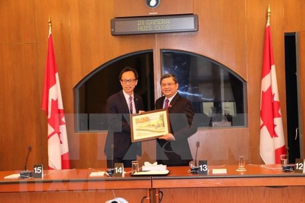 促进越南与加拿大议会合作 hinh anh 1