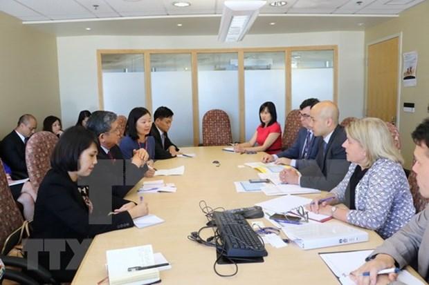 促进越南与加拿大议会合作 hinh anh 2