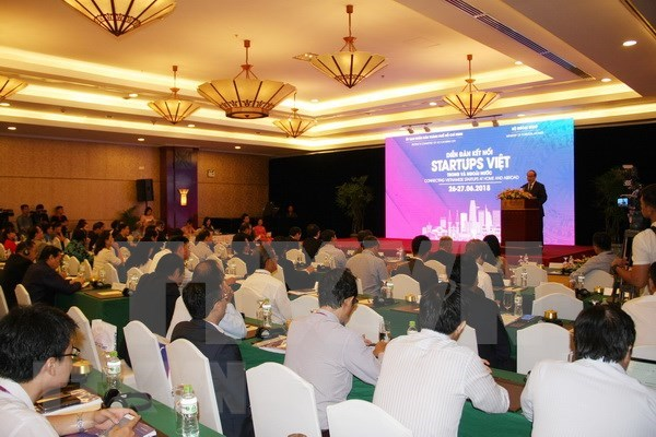 加强越南国内外创业企业的对接 hinh anh 1