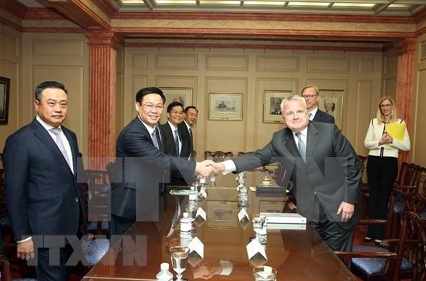 美国重视与越南全面友好合作关系 hinh anh 1