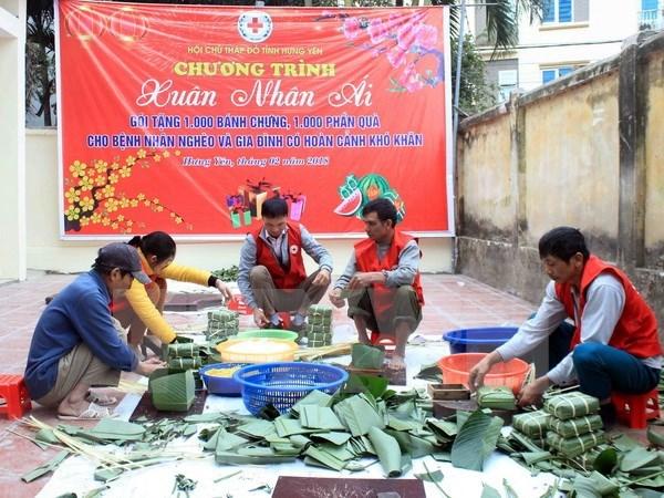 """政府总理致信表彰越南红十字会的""""为贫困者和橙毒剂受害者送温暖""""运动 hinh anh 1"""