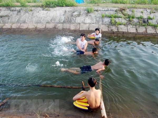 加强预防儿童溺水的国际合作 hinh anh 1