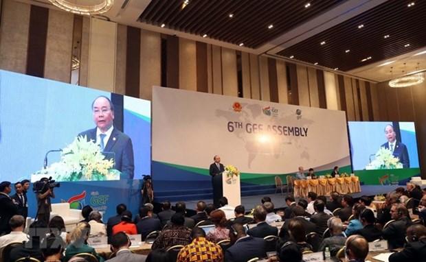 越南政府总理阮春福:越南愿同全球环境基金携手促进可持续发展 hinh anh 2
