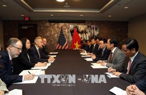 王廷惠美国之行:进一步加强越美经贸投资关系 hinh anh 2