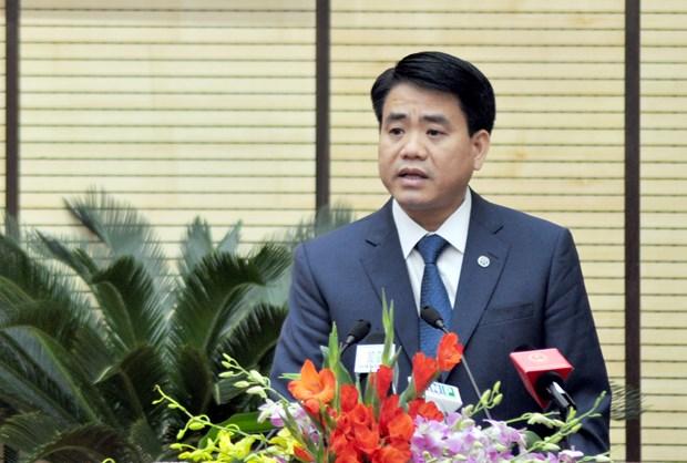 河内市高级代表团探访越南驻法国大使馆 hinh anh 1