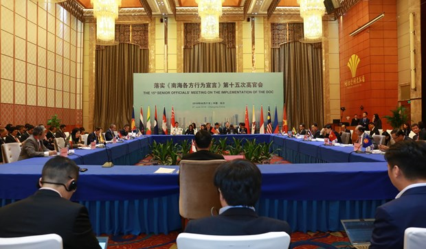 东盟国家与中国举行落实《东海各方行为宣言》第15次高官会 hinh anh 1