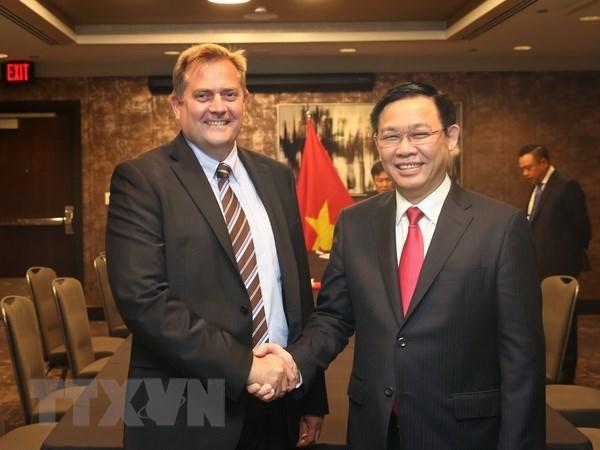 美国企业希望在越南加强经营投资活动 hinh anh 1