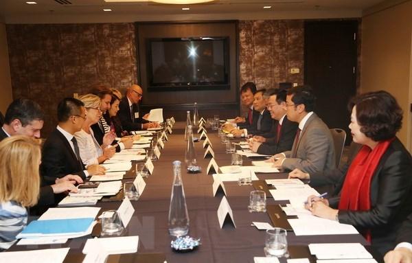 美国企业希望在越南加强经营投资活动 hinh anh 2