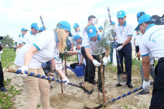 """越南与各国际组织启动""""携手保护海洋""""计划,保护人类共同的海洋蓝色家园 hinh anh 1"""