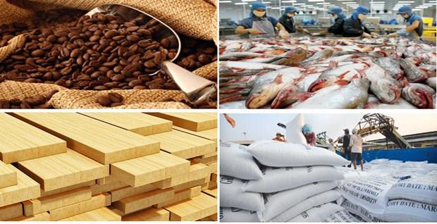 2018年上半年越南农、林、水产品出口额达逾190亿美元 hinh anh 1