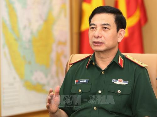 越南人民军总参谋长会见马来西亚海军司令 hinh anh 1