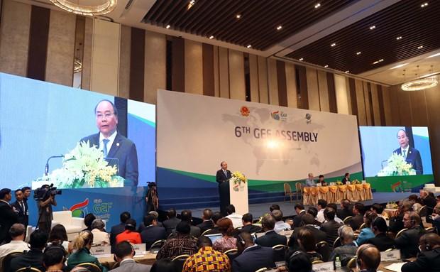 全球环境基金第六届成员国大会:将提供41亿美元的援助资金用于解决全球环境问题 hinh anh 1