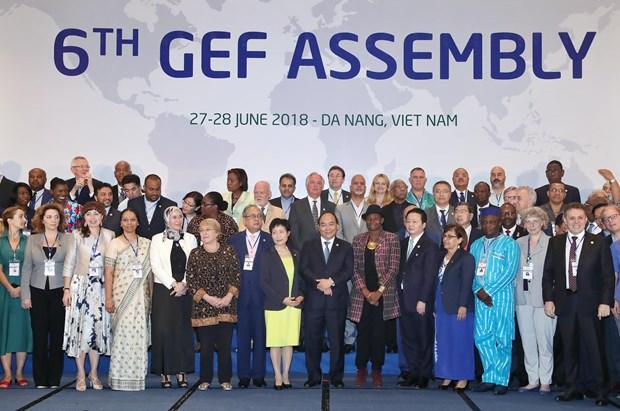 全球环境基金第六届成员国大会:将提供41亿美元的援助资金用于解决全球环境问题 hinh anh 2