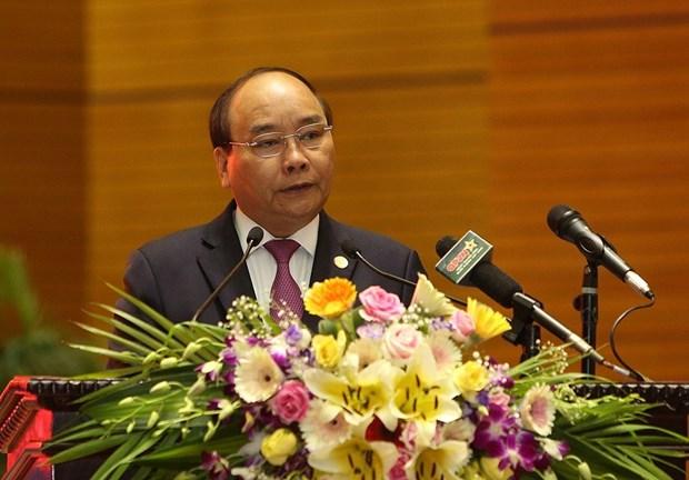 越南政府总理阮春福:不断提高越南人民军的作战能力 hinh anh 1