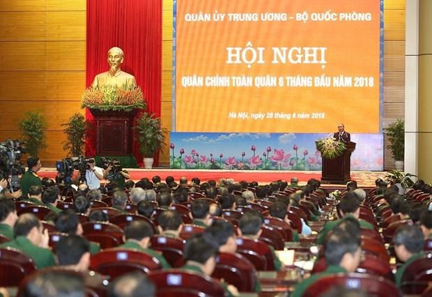 越南政府总理阮春福:不断提高越南人民军的作战能力 hinh anh 2