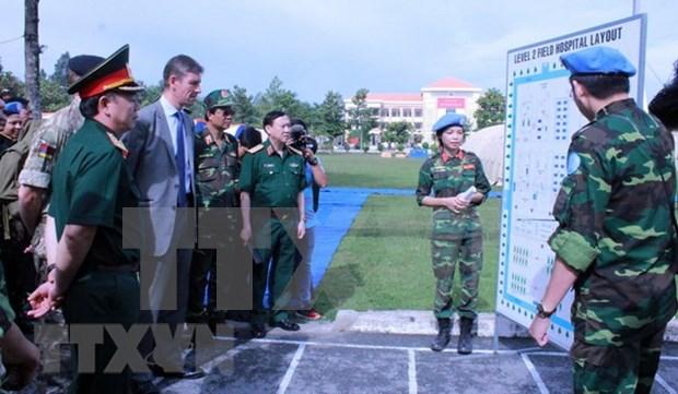 联合国高度评价越南在维和行动中的积极作用 hinh anh 1