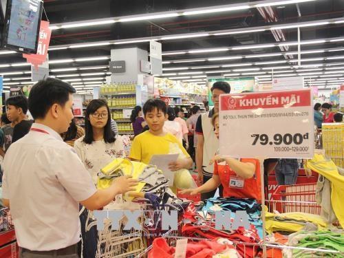 6月胡志明市消费价格指数环比增长0.55% hinh anh 2