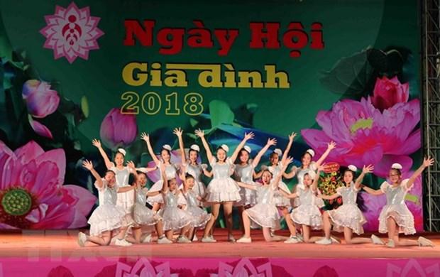 全国各地举行6·28越南家庭日庆祝活动 hinh anh 2