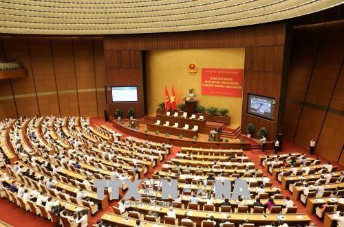 越南全国干部学习贯彻落实越共十二届七中全会决议视频会议今日召开 hinh anh 1