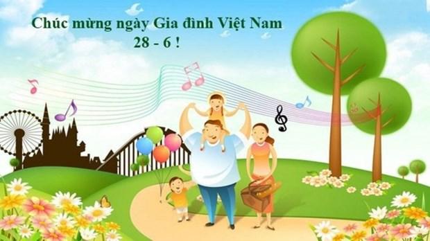 全国各地举行6·28越南家庭日庆祝活动 hinh anh 1