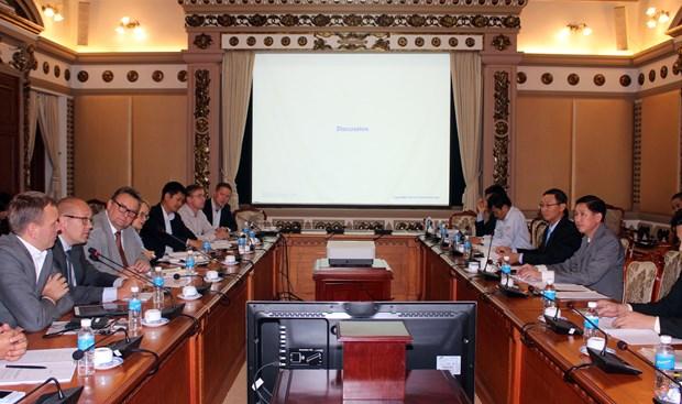 胡志明市与芬兰加强智慧城市领域合作 hinh anh 1