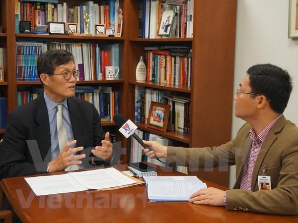 IMF对越南经济发展前景充满信心 hinh anh 1