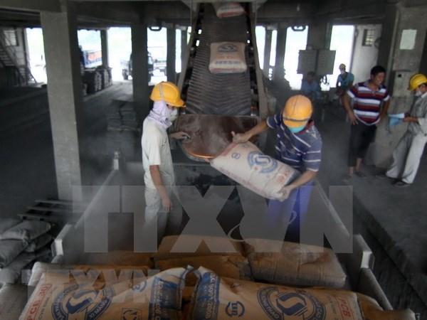 2018年上半年越南水泥出口量同比增长50% hinh anh 1