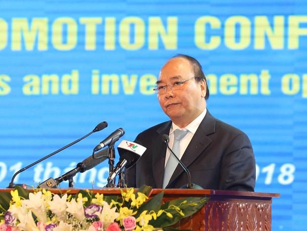 政府总理阮春福出席太原省投资促进会议 hinh anh 2