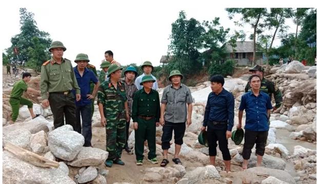 越南北部山区各省努力展开灾后恢复重建工作 hinh anh 1