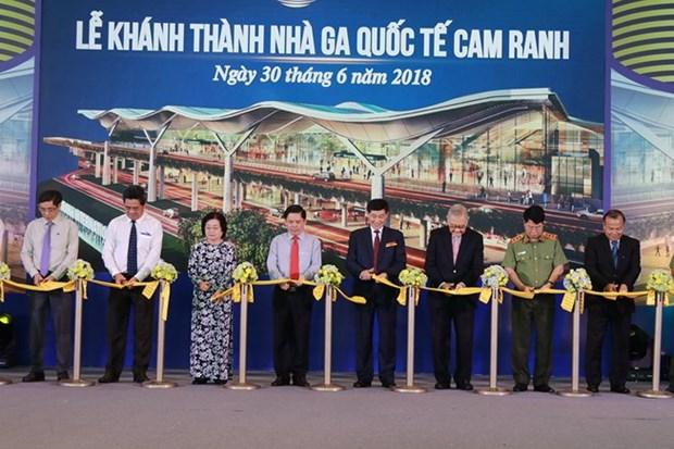 庆和省金兰国际机场国际航站楼竣工投运 hinh anh 1