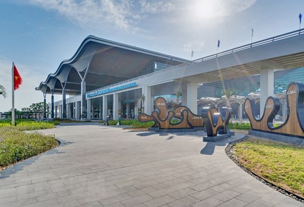 庆和省金兰国际机场国际航站楼竣工投运 hinh anh 2