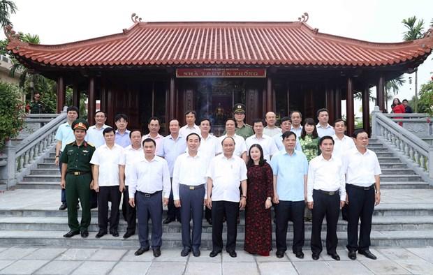 政府总理阮春福:太原省以三大经济支柱实现多样化发展 hinh anh 2
