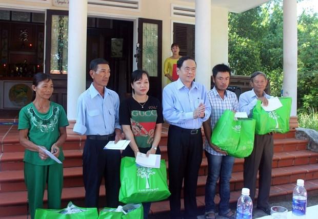 陈青敏:广南省祖国阵线须创新工作内容和方式 倾听民众的愿望和心声 hinh anh 2