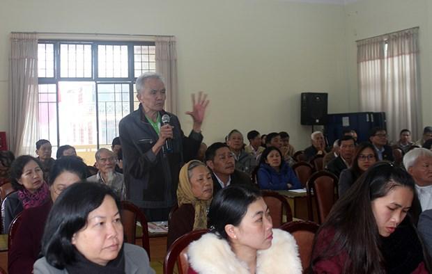 林同省选民就经济社会发展问题提出许多切实的建议 hinh anh 1