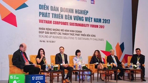可持续发展全国会议将于本月5日召开 hinh anh 1