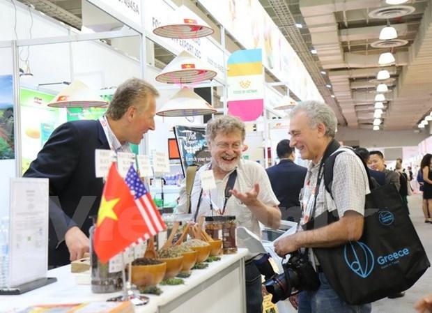 越南产品征服美国纽约最大优质食品及饮料展览会 hinh anh 1