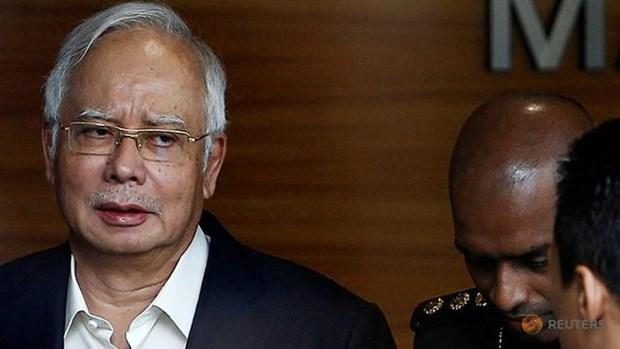 马来西亚前总理纳吉布被捕 hinh anh 1