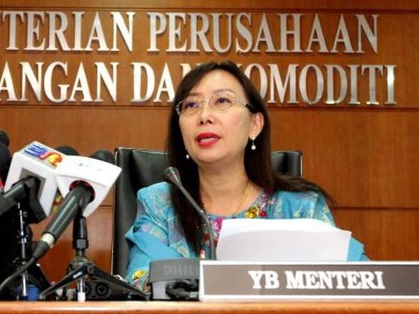 马来西亚再有13名部长宣誓就职 hinh anh 1