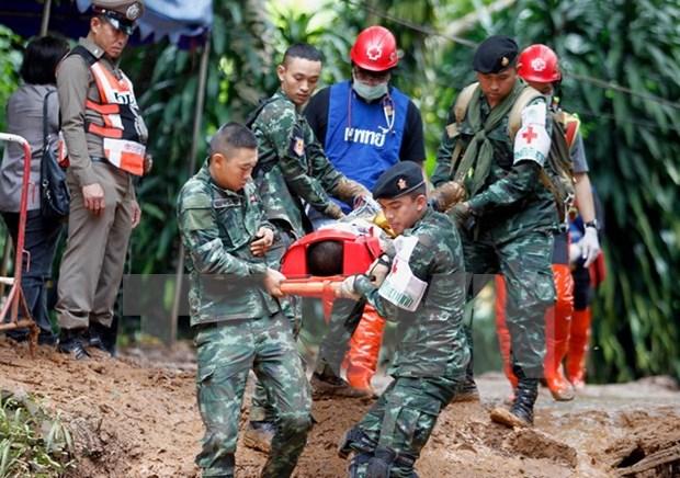 泰国少年足球队13人失踪九天后被找到 hinh anh 2