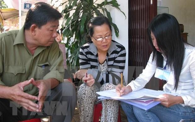越南2019年人口与住房普查将于明年4月初启动 hinh anh 1