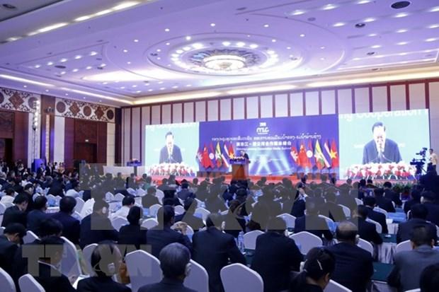 2018湄公河—澜沧江合作媒体峰会开幕 hinh anh 1
