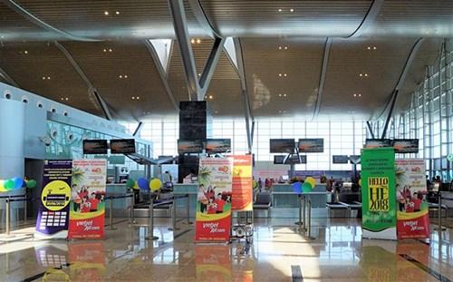 越捷国际航班正式转到金兰国际航空港T2航站楼 hinh anh 1
