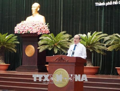 胡志明市市委第10届执行委员会第17次会议今日开幕 hinh anh 2