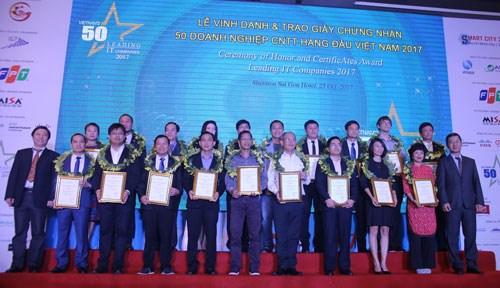 2018年越南信息技术领域50强企业评选活动启动 hinh anh 1