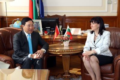 越南与保加利亚努力深化务实合作 hinh anh 1